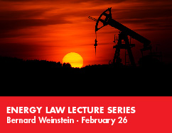 Energy Law Lecture Series